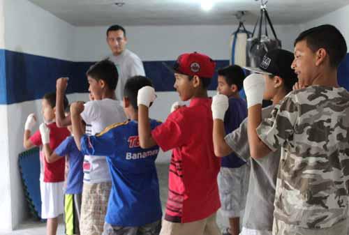Box: Una disciplina que permite enfocar el tiempo de manera saludable para jóvenes y niños.
