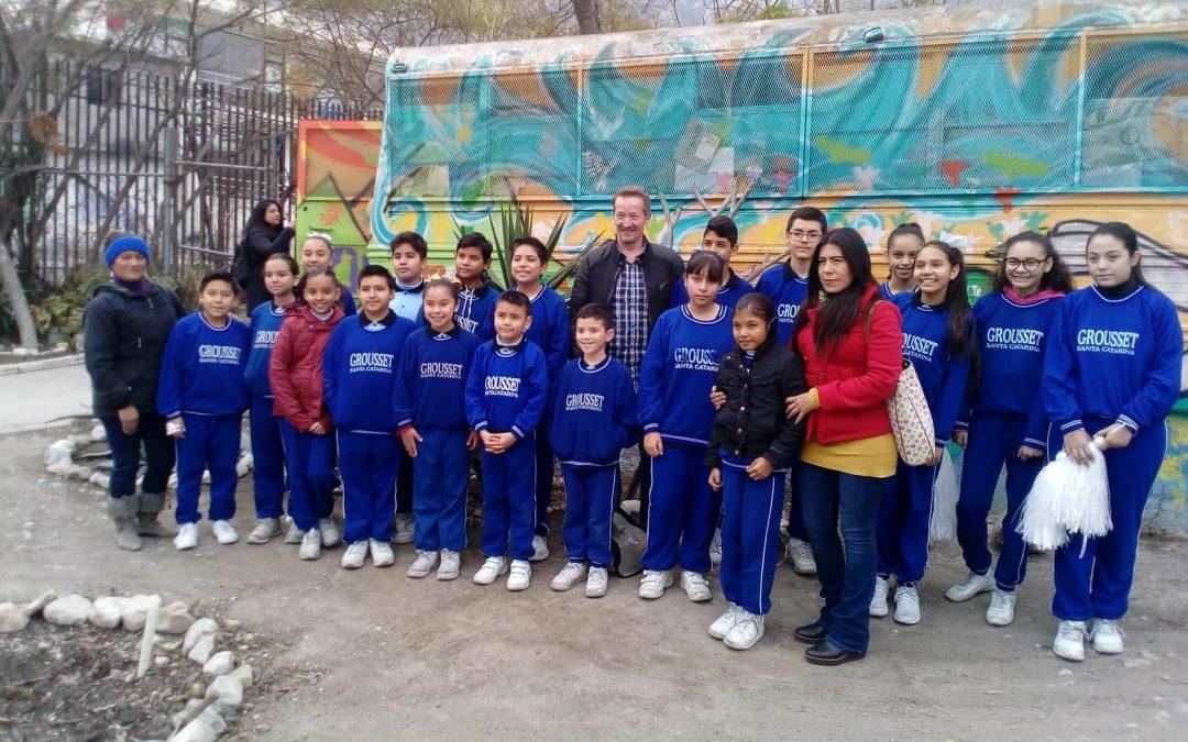 Reconocimiento por ser una escuela verde y sustentable